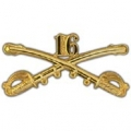 "BDG-ARMY, CAV. SWORDS, 16TH (2-1/4"")"