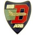 """PIN-APL, BIG A 7D (LOGO) (1"""")"""