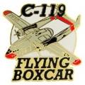 """C-119 FLYING BOX AC MODEL PIN (1-1/2"""")"""