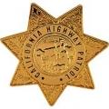 """BDG-POLICE, CA. HWY. PATROL (1-1/2"""")"""