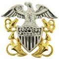 """BDG-USN, OFF. CAP (2-1/2"""")"""
