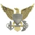 """BDG-USCG, OFFICER (2-1/2"""")"""