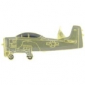"PIN-APL, A-01 SKYRAIDER USAF (1-1/2"")"