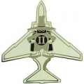 "F-4 PHANTOM PIN (LOGO) (1"")"