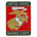 "PIN-USMC LOGO, RECTANGLE (1"")"