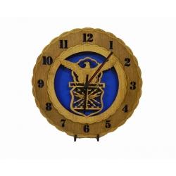 Wood Air Force Clock