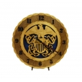 Wood Navy Clock