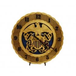 Wood Navy Clock