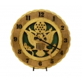 Wood Army Clock