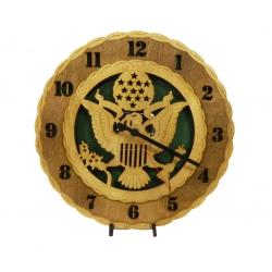 Wood Army Clock