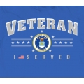I SERVED. AIR FORCE T-SHIRT