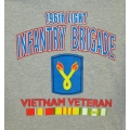196TH LIGHT INFANTRY BRIGADE VIETNAM VETERAN T-SHIRT