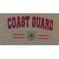 PROUD COAST GUARD DAUGHTER T-SHIRT