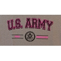 PROUD ARMY GRANDDAUGHTER T-SHIRT