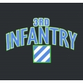 3RD INFANTRY VETERAN T-SHIRT-  AVAILABLE IN GREY, BLACK, OR OD GREEN