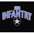 2ND INFANTRY VETERAN T-SHIRT-  AVAILABLE IN GREY, BLACK, OR OD GREEN