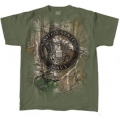 REALTREE NAVY T-SHIRT