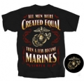 """ THEN SOME BECOME MARINES "" MARINE CORPS T-SHIRT"