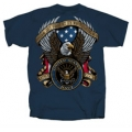 """FREEDOM IS WORTH FIGHTING FOR"" NAVY T-SHIRT"