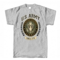 ARMY WREATH PRINT T-SHIRT