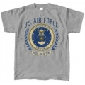 AIR FORCE WREATH PRINT T-SHIRT