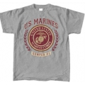 MARINES WREATH PRINT T-SHIRT