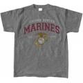 GREY MARINES T-SHIRT