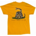 Don't Tread On Me T-Shirt ( Yellow)