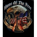 Home of the Free- Because of the Brave T-shirt