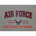 AIR FORCE PROUD WIFE OF VIETNAM VETERAN T-SHIRT