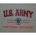 ARMY PROUD WIFE OF VIETNAM VETERAN T-SHIRT