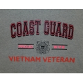 COAST GUARD PROUD WIFE OF VIETNAM VETERAN T-SHIRT