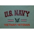 NAVY PROUD WIFE OF VIETNAM VETERAN T-SHIRT