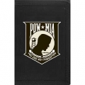 "WALLET-POW*MIA, SHIELD (HVY. DUTY NYLON/VELCRO) (3-1/2""X5"")"