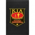 "WALLET-KIA,SHIELD (HVY.DUTY NYLON/VELCRO) (3-1/2""X5"")"