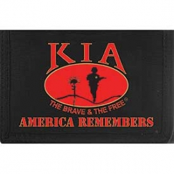 "WALLET-KIA, NATIVE AMERICA (HVY. DUTY NYLON/VELCRO) (3-1/2""X5"") Item #: WL0243 (WA"